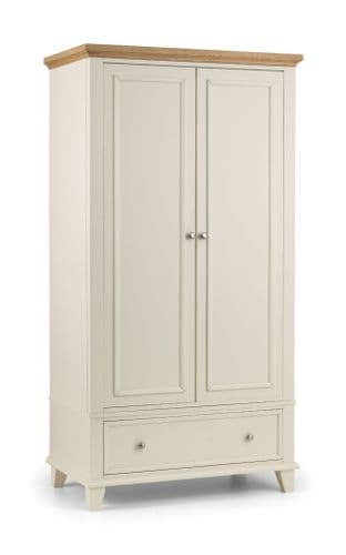 Syracuse Modern Stone White Combination Wardrobe JB425