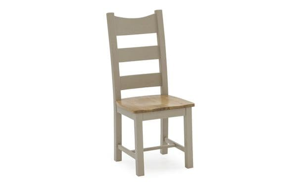 Tarquinia Taupe Semi Solid Oak Dining Chair 218VD585