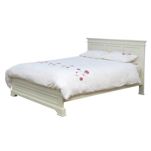 Torre Ivory Panelled Double Bed 18VD378