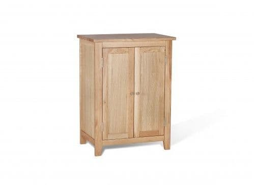 Toulouse Solid Oak Bathroom Vanity Unit 17LD13