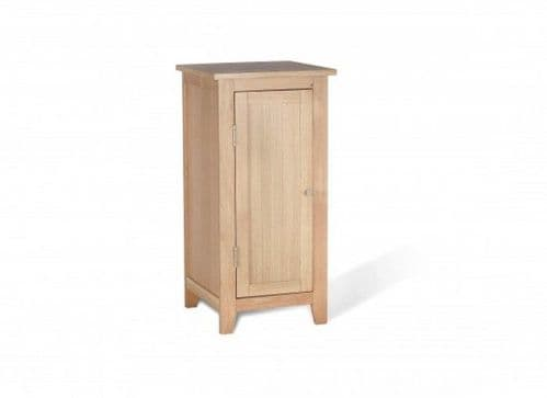 Toulouse Solid Oak Low Bathroom Storage Unit 17LD14