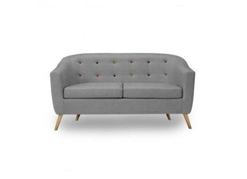 Trinite Soft Grey Linen Sofa 17LD516