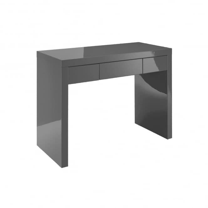 Troyes Charcoal High Gloss Finish Dressing Table 19LD82