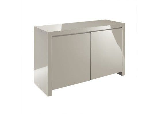 Troyes Stone High Gloss Finish Sideboard 17LD432