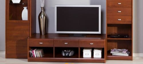 Veldo Cherry Primavera Large TV Cabinet Entertainment Unit SZDO10