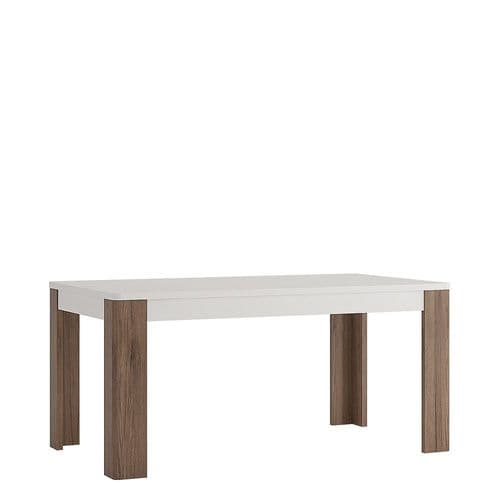 York White High Gloss 160 cm Dining Table FG4204244